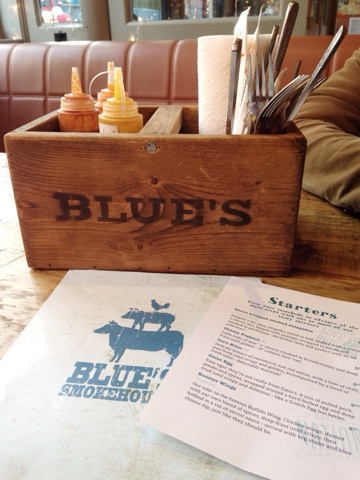 Blue's Smokehouse, Twickenham - American-style BBQ served in a casual atmosphere and where Mr Jones and I chose to celebrate our 8th anniversary!