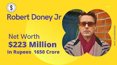 Robert Downey Jr Net Worth As 2021