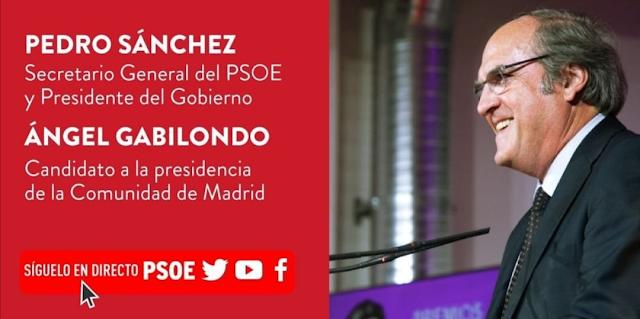 Ángel Gabilondo- Campaña PSOE