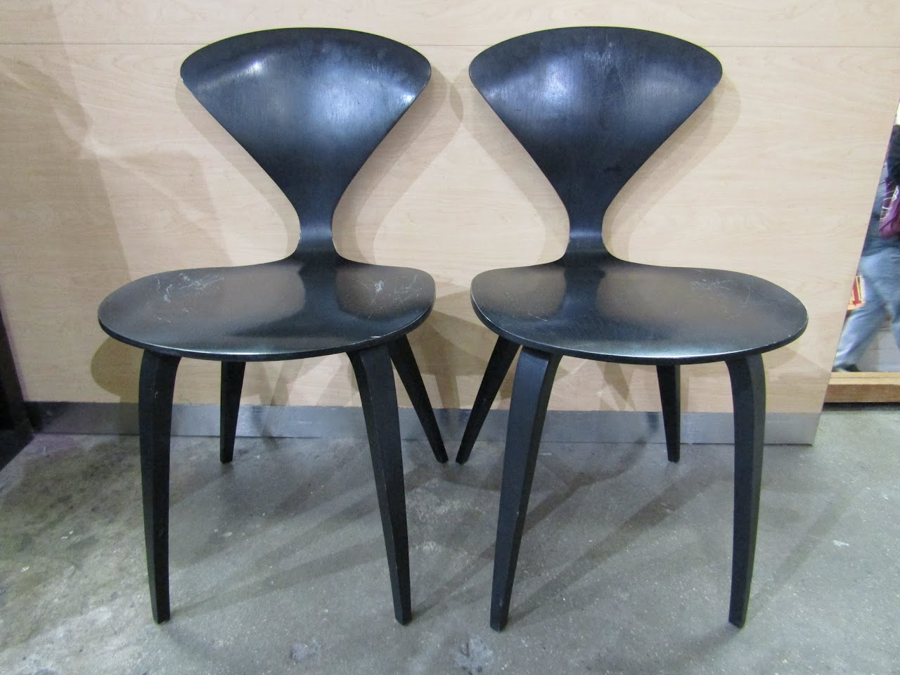 Cherner Side Chair Pair