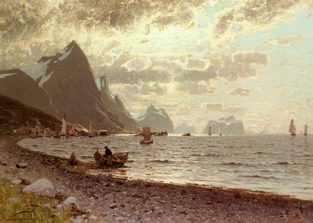 Adelsteen Normann - The Norwegian Fjord.