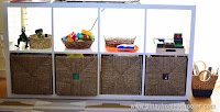 Montessori Shelves Organization for Small Spaces