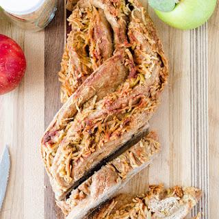 Twisted Cinnamon Apple Bread.