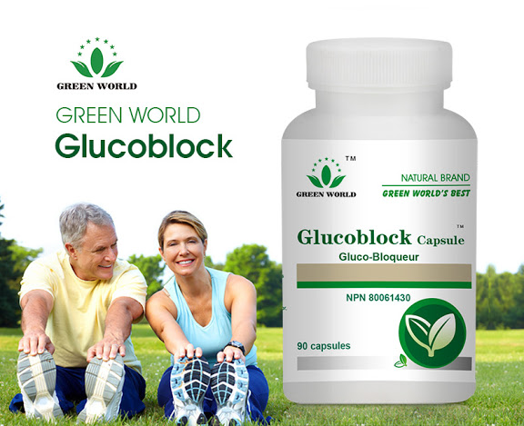 Glucoblock Capsule Green World