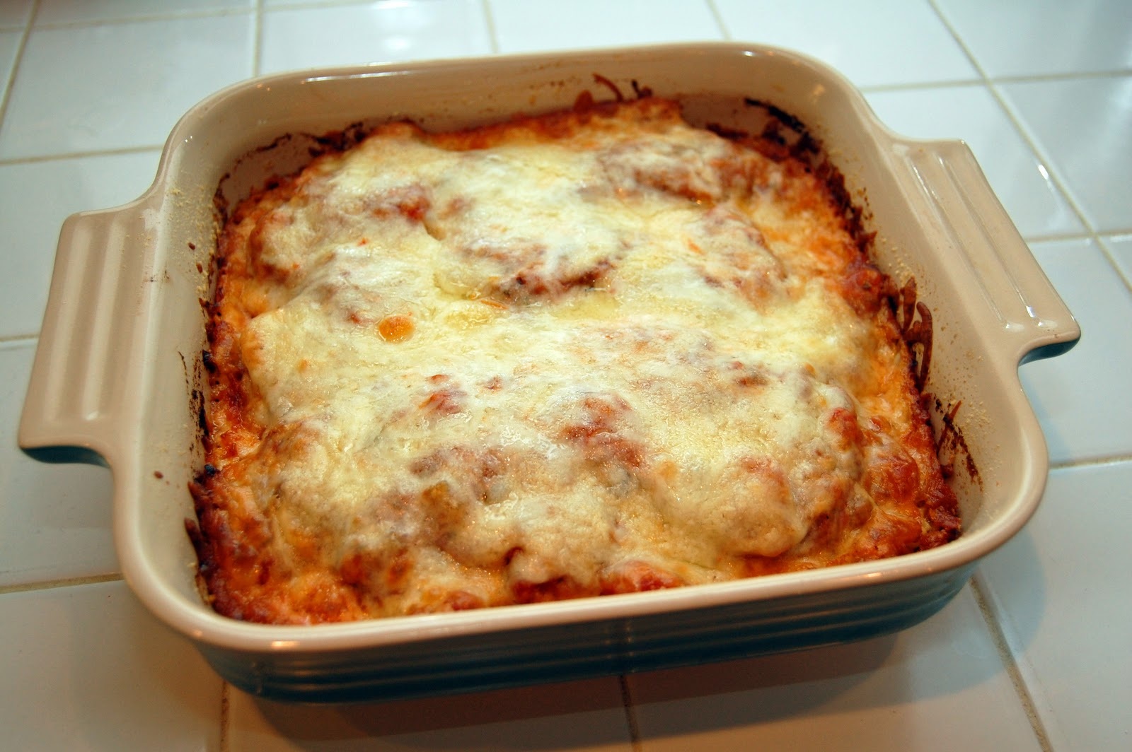 Southern Lady's Recipes: Eggplant Parmesan