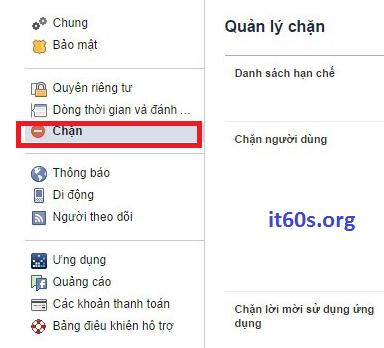 Chặn những lời mời chơi game khó chịu trên facebook 2