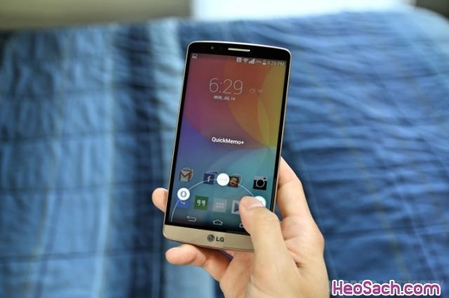 Hình 4 - Hướng dẫn cách chụp màn hình điện thoại LG, G2, G3, G4