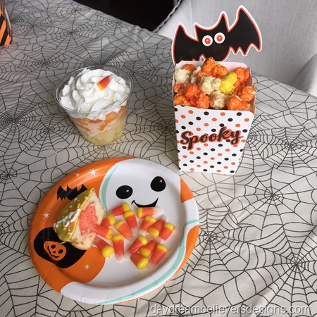 Candy Corn Halloween Treats Fun Lunch Food