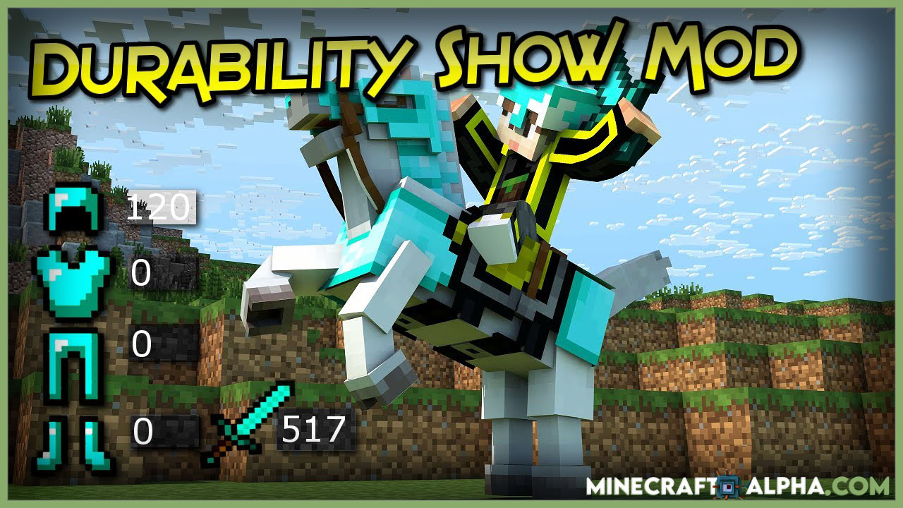 Minecraft Durability Viewer Mod 1.17
