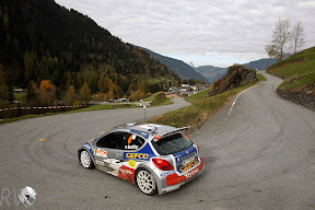 The IRC featured many different types of road surfaces, embracing tarmac just as the WRC tried to shy away (Photo: Peugeot)