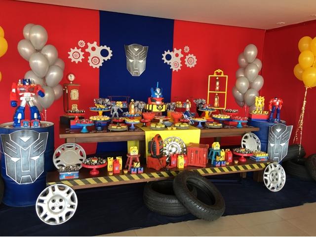 compartilhar com o pinterest etiquetas festa transformers transformers