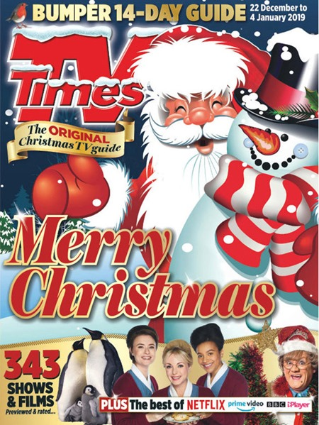 TV Times Christmas Cover 2018
