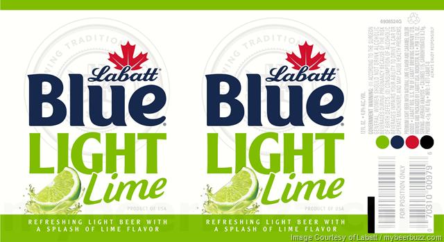 Labatt Adding Blue Light Grapefruit, Lime & Blood Orange