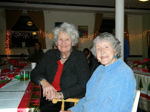 Photo: Gyandevi and Karen at Green Hill Cafe