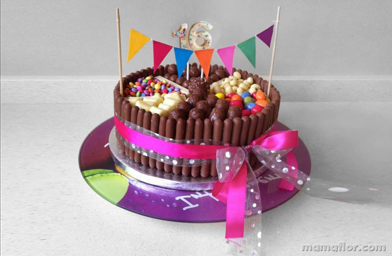Las Mejores Tortas decoradas con Golosinas - Manualidades MamaFlor