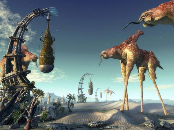 Unknown Animals, Magical Landscapes 2