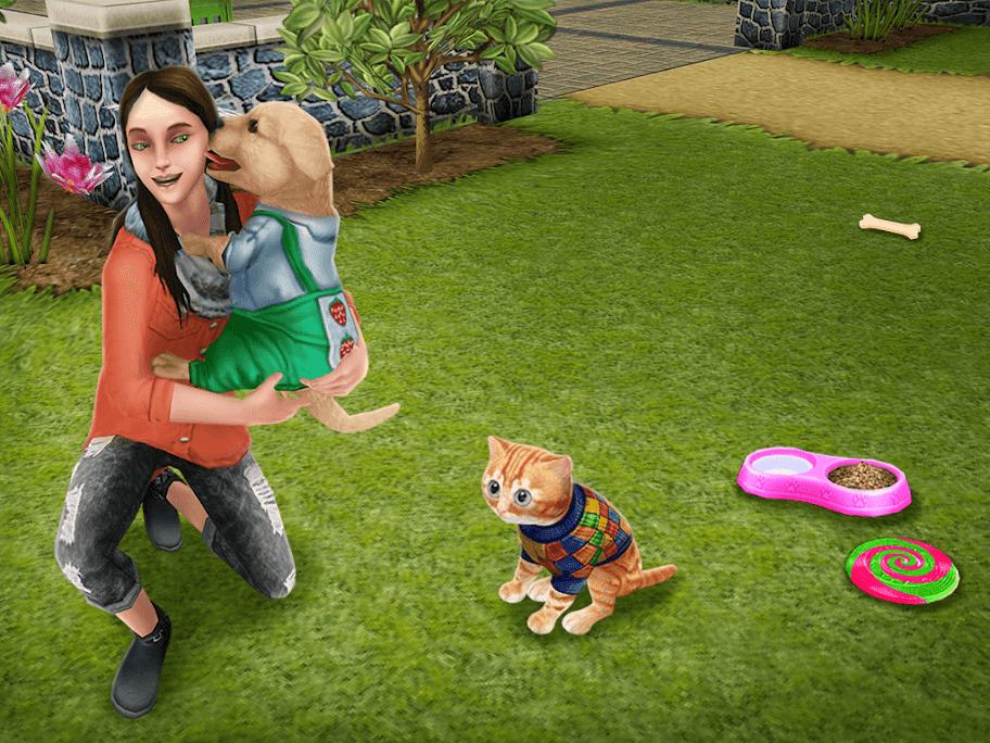 sims freeplay pup op avontuur
