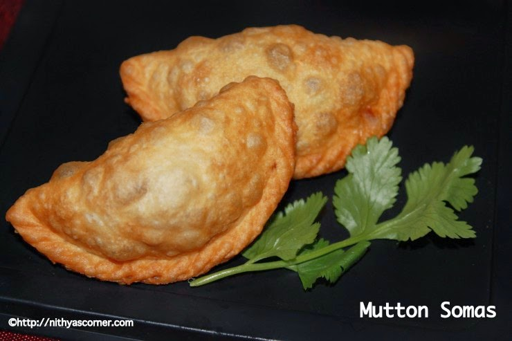Mutton somas recipe