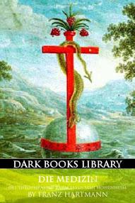 Cover of Franz Hartmann's Book Die Medizin des Theophrastus Paracelsus von Hohenheim (in German)