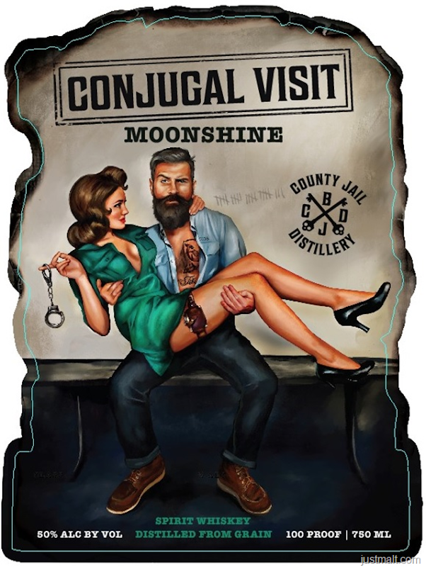 County Jail Distillery Conjugal Visit Moonshine