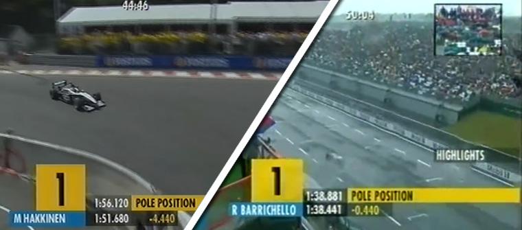 En 2002 la sesión duraba una hora, con límite de 12 vueltas
