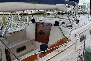 Island Packet 350 Josh Johnson CPYB at Little Yacht Sales Waterford Harbor