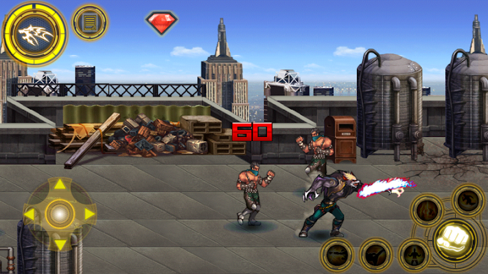 Classic Arcade Fighting - screenshot