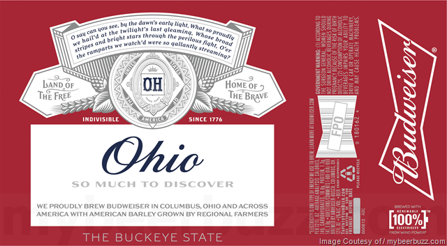Budweiser State By State Packaging Returns For 2018