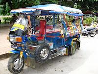 Tuk Tuk, Laos style