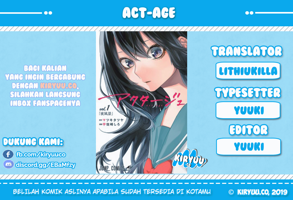 Act Age Chapter 28-1