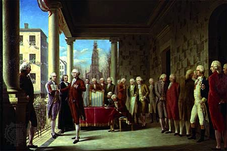 Washington's Inauguration