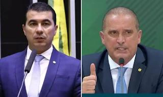 CPI aprova acareação entre Onyx Lorenzoni e Luis Miranda