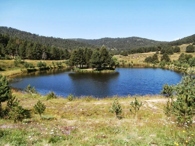 El lago de Caudies