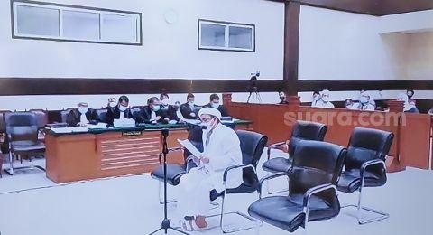 Pembelaan Habib Rizieq: Kasus Saya Bukan Kasus Hukum, Tapi Dendam Politik!
