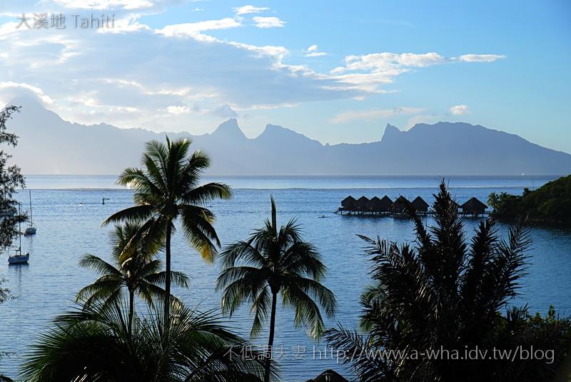 【大溪地Tahiti天堂之旅】大溪地的南太平洋夕陽美景~二部曲