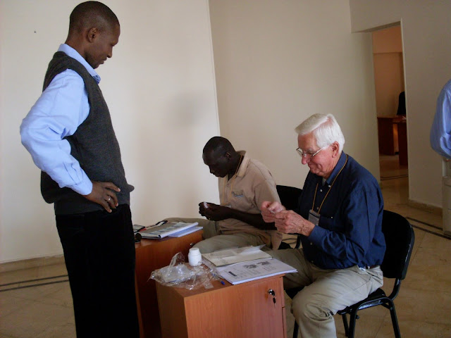#VolunteerAbroadBecause...Cultural Interchange Brings Understanding - John Dwyer working the South Sudan referendum as an election supervisor