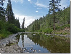 Truckee River, Granite Flat Campground, Truckee, California