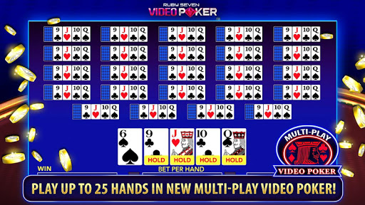 Ruby Seven Video Poker | Free