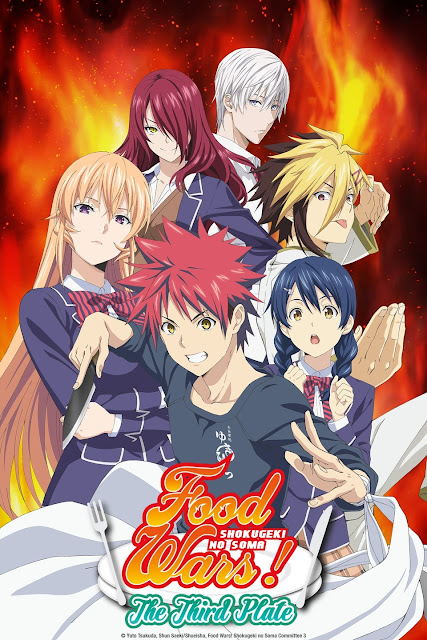 Food Wars! The Third Plate