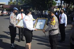Kapolresta Pasuruan Kota Beserta jajarannya Mendapat Penghargaan dari TRCPPA