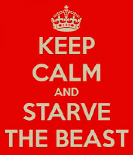 50 Ways To Starve The Beast