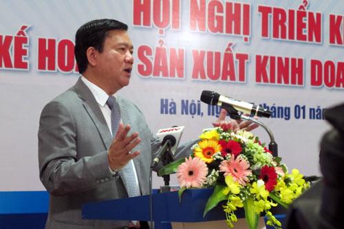 duong sat Bo truong Dinh La Thang Tong Cong ty duong sat