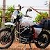 EIMOR Customs Laila: Combination of RE Himalayan and Interceptor 650