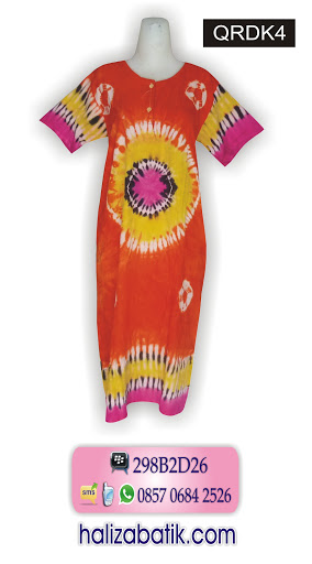 Batik Modern, Model Baju Terbaru, Toko Baju Batik, QRDK4