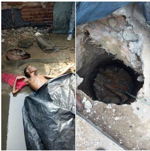19-Year-Old Girl Allegedly Strangled ToDeath And Forced Into Septic Tank (Photos)