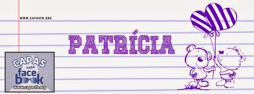 Capas para Facebook Patrícia