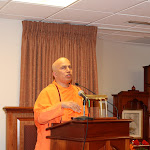 Day 1 Swami Tyagananda spoke on Swami Vivekananda