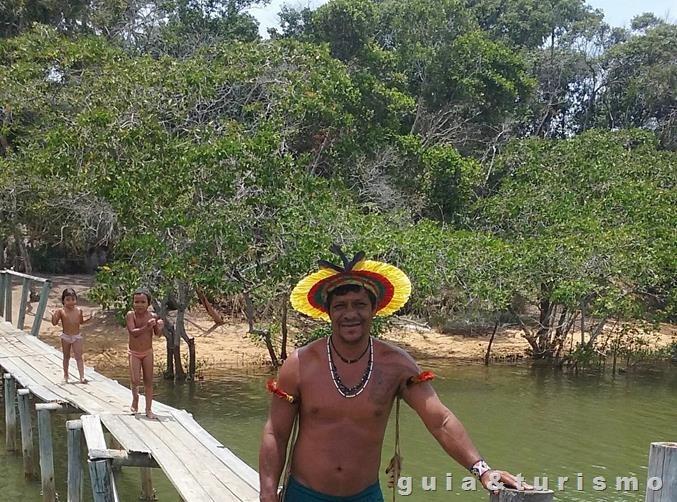 Aldeia temática Guarani em Aracruz