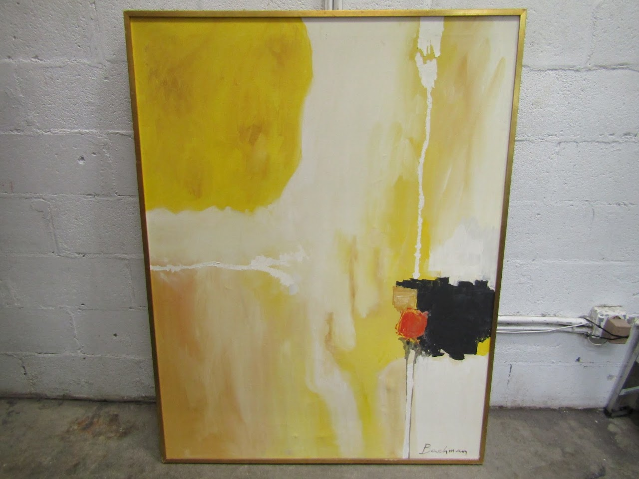Bachman Large Abstract Painting