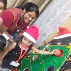 Christmas Celebration of Playgroup Afternoon Section at Witty World, Chikoowadi (2017-18)